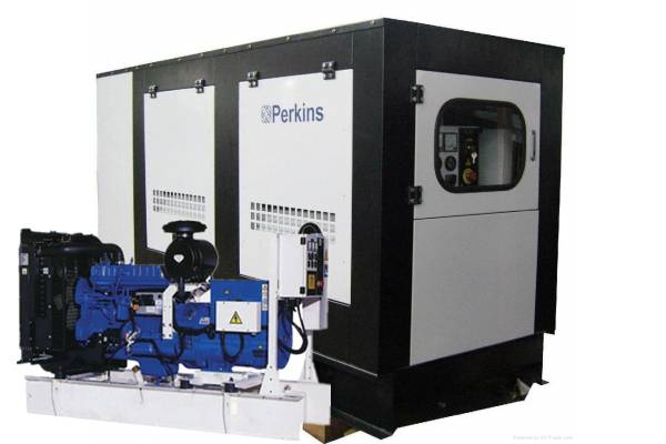 Low Feul Consumption Perkins Diesel Generator Set Generating Machine Power Plant Fuel Generator Set