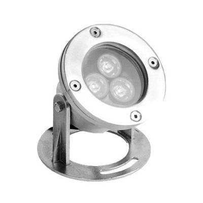 Waterproof LED Underwater Light Under Water lamp pool lamp Bath Lights 3W