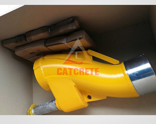 Concrete Pump Spare Parts Putzmeister S Valve Tube Pipe S1512 /S2015/S2018/S2318