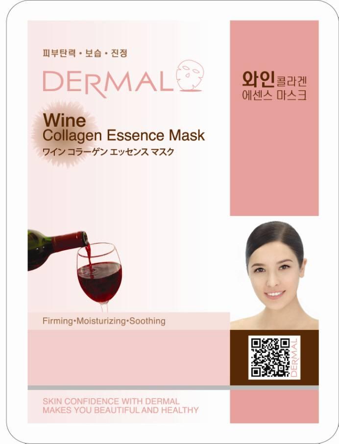 Dermal Wine Collagen Essence Mask (23g)