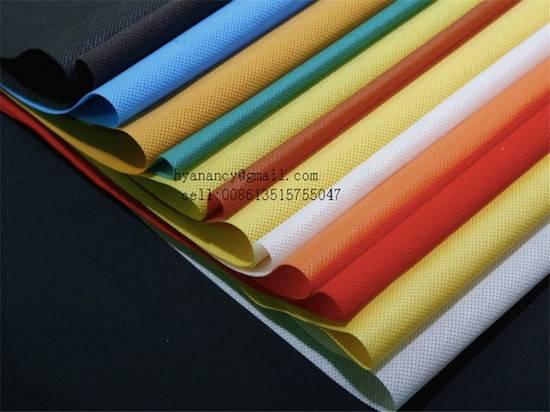 Lining nonwoven fabric,la tela no tejida de forro.