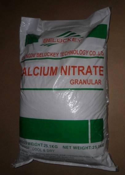Calcium Nitrate(CN)-Water Soluble Fertilizer