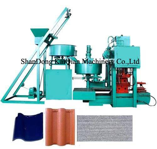 high quality cement roof tile making machine
