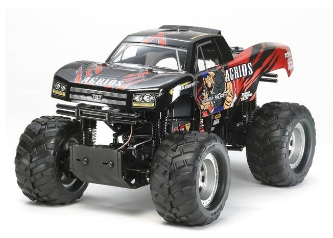 Tamiya 1/10 scale Monster Truck Agrios 4x4 (TXT-2 Chassis)