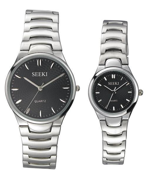 Solid stainless steel watch
