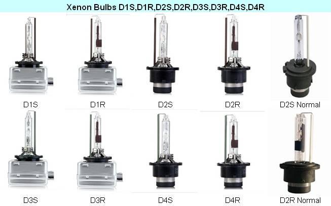xenon HID bulbs D1S/R,D2S/R,D3S/R,D4S/R etc.