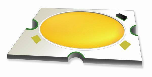 [COB] High power multi chip array LED - B80R2 Series (80W) - 45x45 PCB (white)