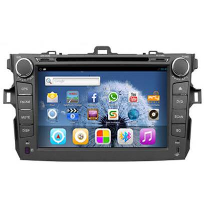 8 Inch 2-Din DVD player for Toyota Corolla 10th
