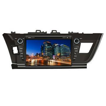2014 new corolla TOYOTA car dvd radio gps player Made in China
