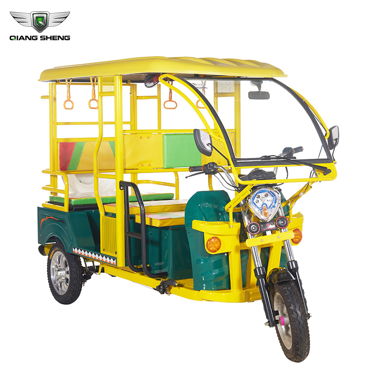Newest Electric Bajaj Three Wheeler with Bajaj Auto Taxi Tricycle