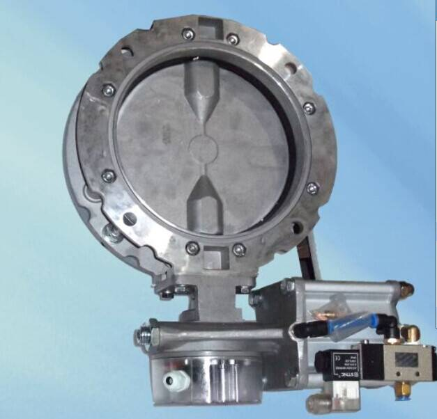 Sicoma Pneumatic butterfly valve