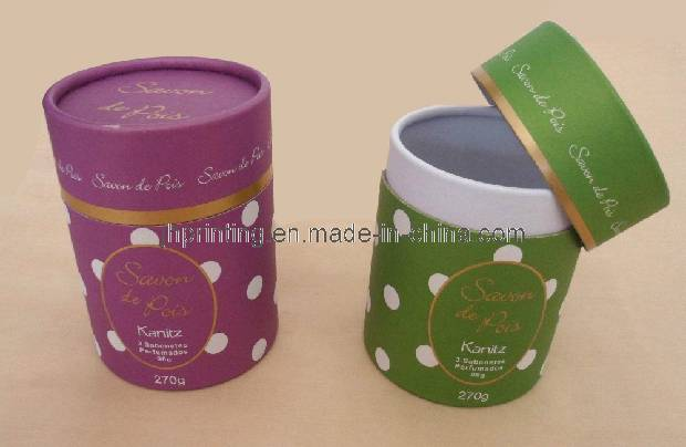 Solid Perfume Paper Round Box
