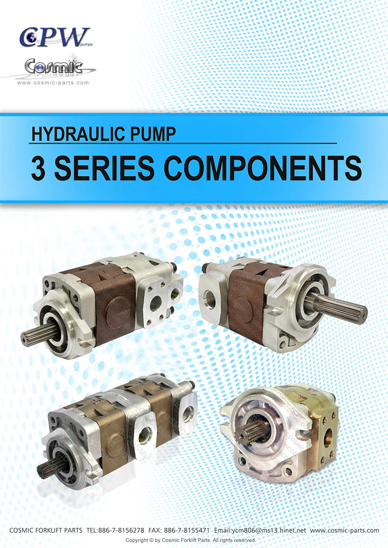 Cosmic Forklift Parts-HYDRAULIC PUMP [CPW] 3 SERIES CATALOGUE (size)