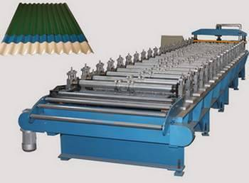Circular Corrugated Roofing Sheet Roll Forming Machine For Sale