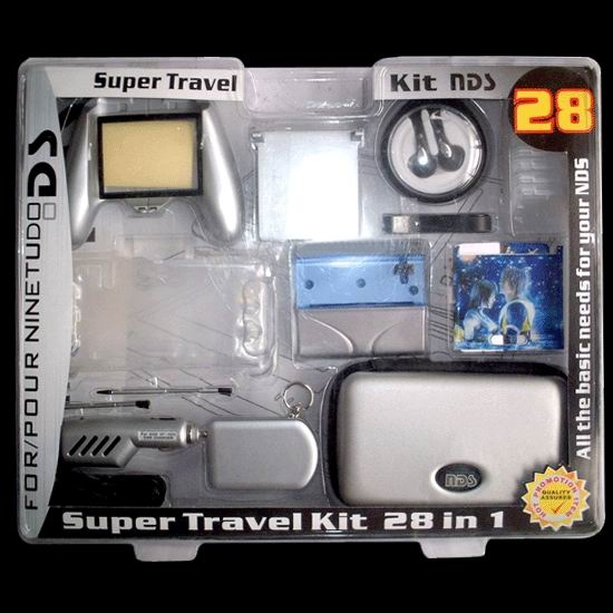 NDS accessory ,nds carry bag,nds card case,nds recharger ,nds leather bag,nds retractable stylus