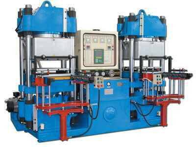 2RT Vacuum Rubber Molding Press Machine