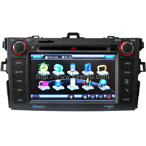 All-in-one Special Car DVD Player For Toyota Corolla