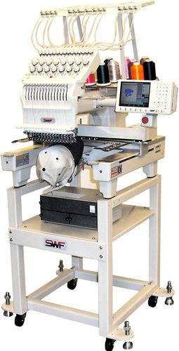 SWF 1501C Compact Embroidery Machine E-Series Commercial Embroidery Equipment