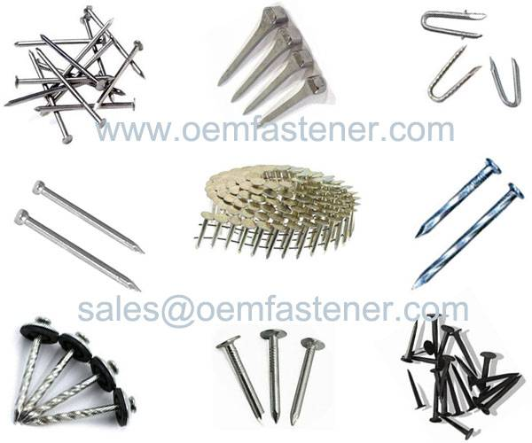 coil nails, framing nails,roofing coil nails