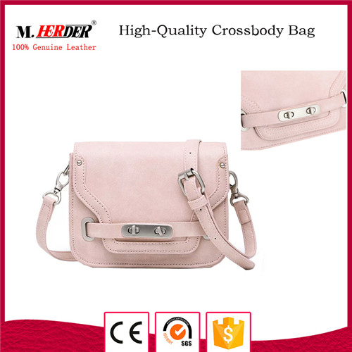 New arrival leather handbag for girls MD9069