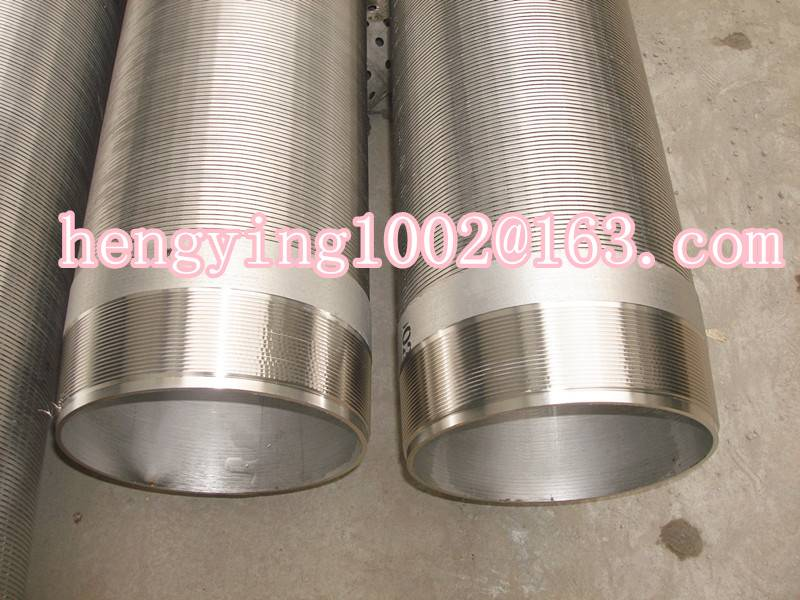 Hot sale wire wrapped screen pipe for water treatment