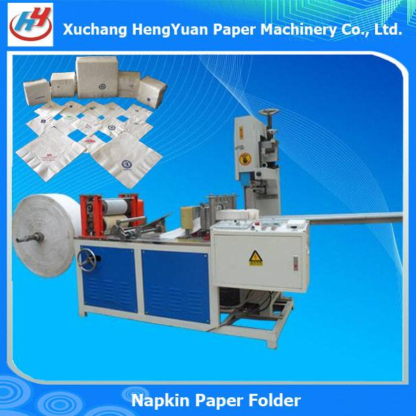 Color Printing Embossing Paper Napkin Machine