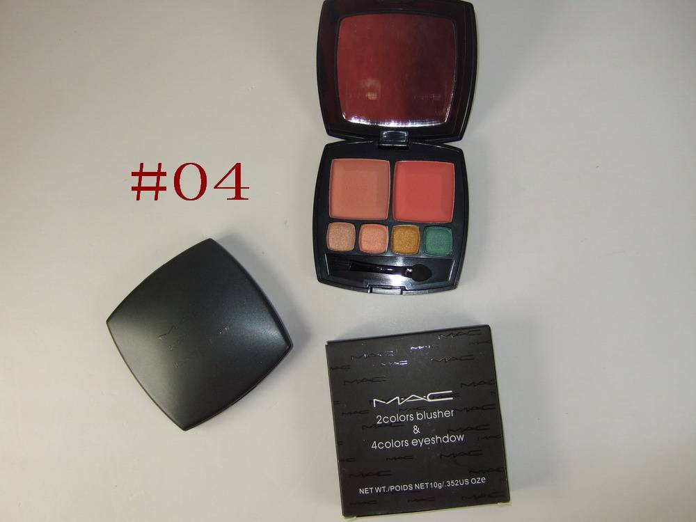 beauty colors MAC  4 colors eyeshadow