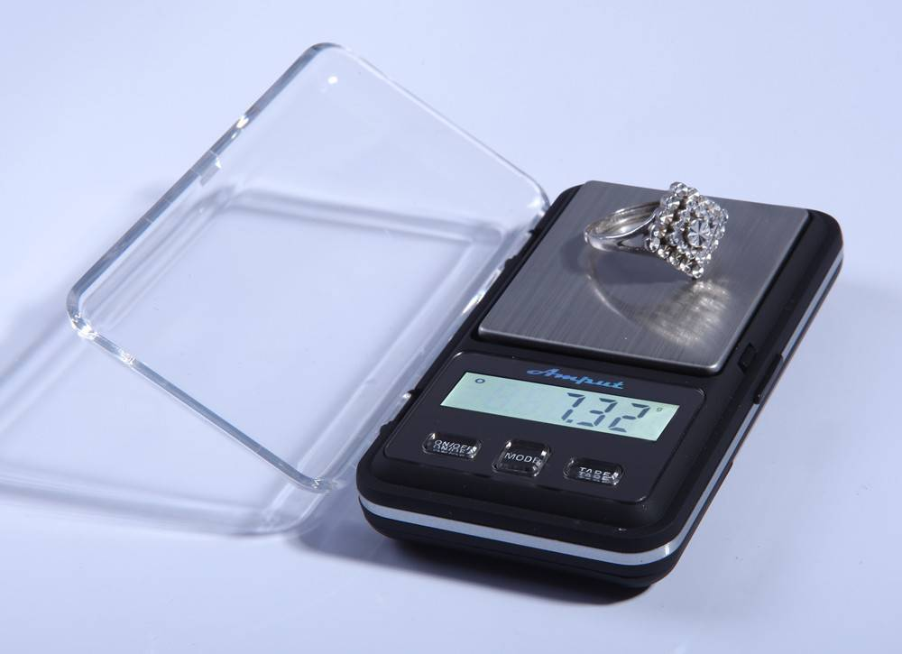 Amput electronic scale pocket scale jewelry scale very useful and LDC touch screen