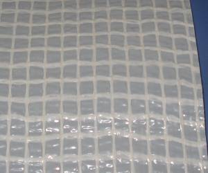 PE film coated with PP mesh,PE or PP woven fabric and  vapor barrier