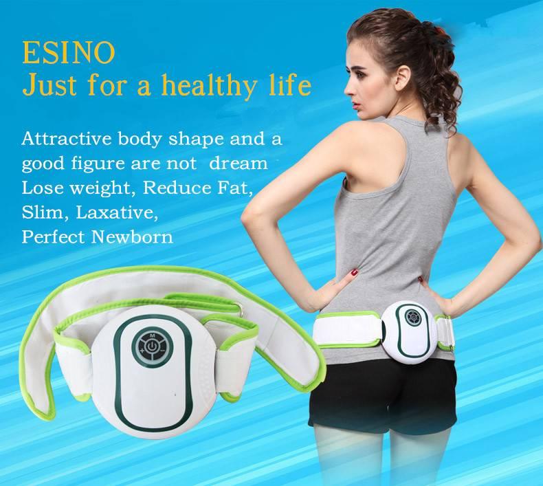 2015 Newest Electric Vibration Massage Belt/ES-106 Infrared Mini Slimming Massage Belt