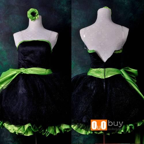 Anime Cosplay Costume Black Dress Lolita Cosplay Costume