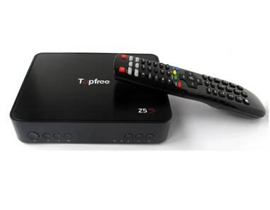 Hot Selling Z5s DVB-S2+Iks+Sks+IPTV+WiFi