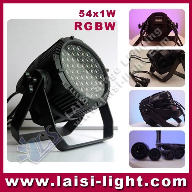 54x3w Waterproof LED PAR