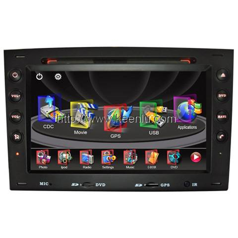 All-in-one Special Car DVD Player for Renault Megane (2005-2008)