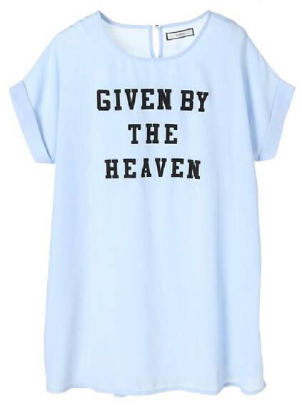 chiffon T-shirt