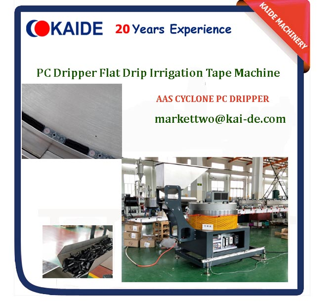 PC Drip Irrigation Pipe Making Machine (With AAS Dripper)