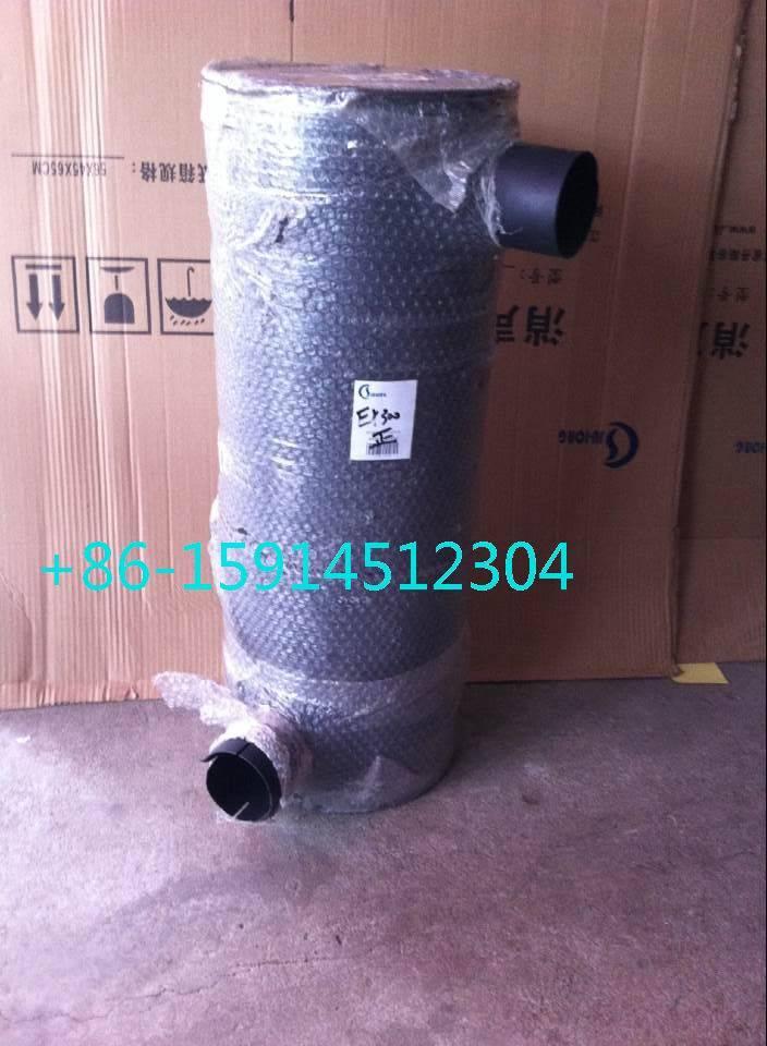 Hitachi EX330/EX300 manifold with tube/clamp