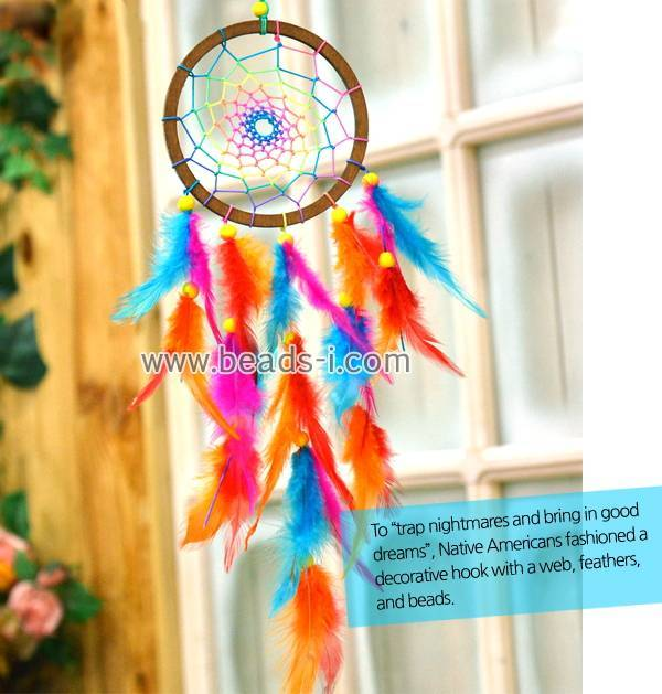 Rainbow Dream Catcher (finished Product)
