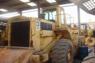 used CAT 966D wheel loader for sale, original bucket loader