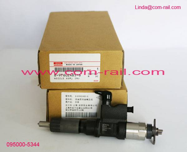 DENSO common rail injector 095000-5344 for 4HK1/6HK1 8-97602485-6 8976024856
