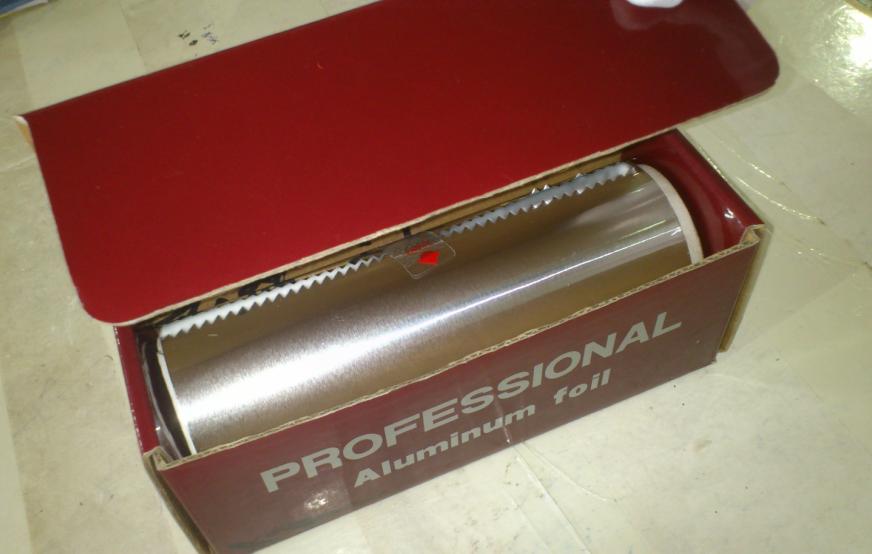 Hairdressing aluminium foil rolls for hair salon