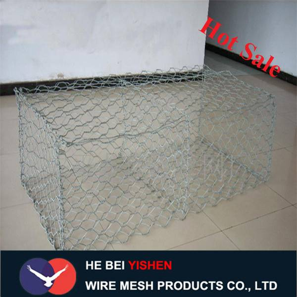 Gabion basket wire mesh for protecting dam