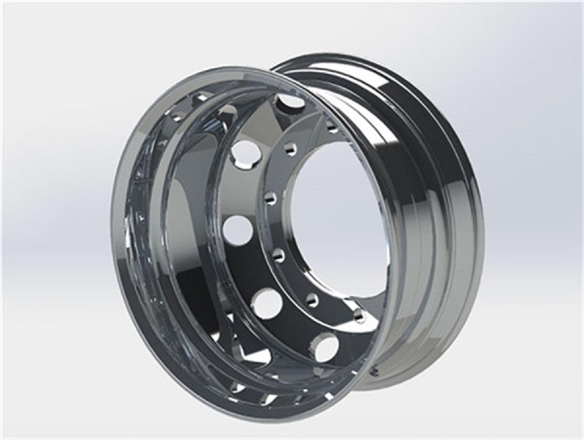 customized Machined Finish wheels