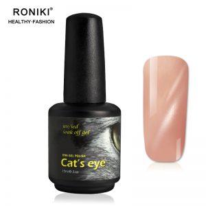 RONIKI UV Pink Cat Eye Gel,Cat Eye Gel
