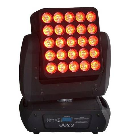 25X12W RGBW LED Array Beam Moving Head