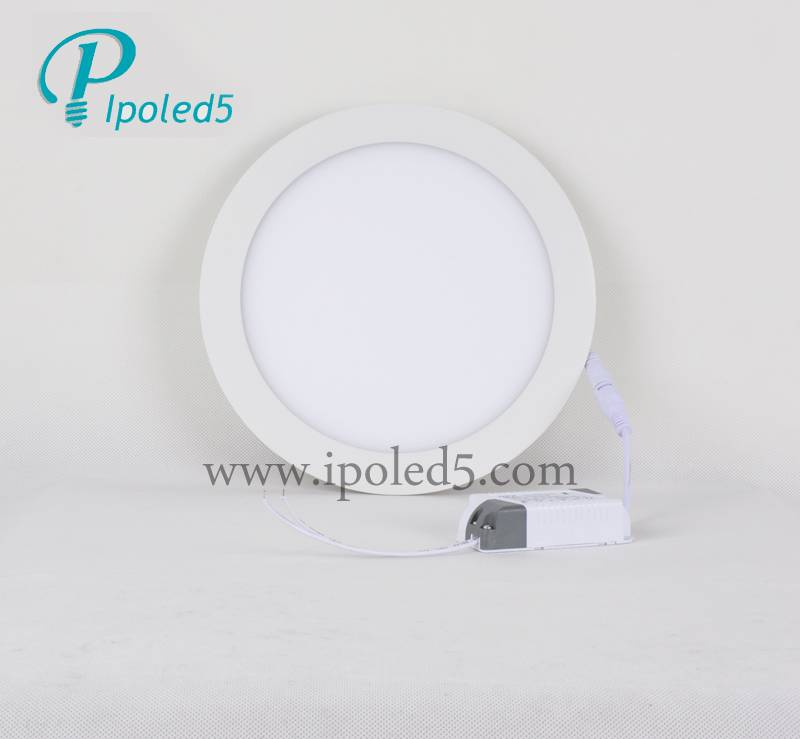 Mini round led light panel pwoer savings
