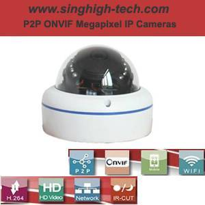 P2p Onvif 2.0MP 1080P Waterproof IR IP Camera (NS6336)