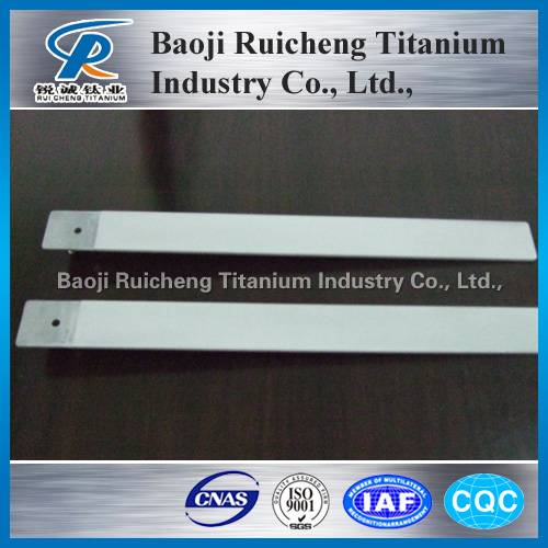high quality titanium anode sheet in stock for sale