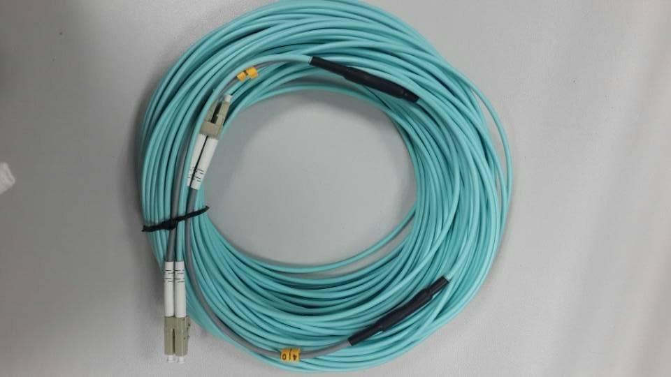 Good quality LC/UPC-LC/UPC Duplex Armoured optical fiber jumper