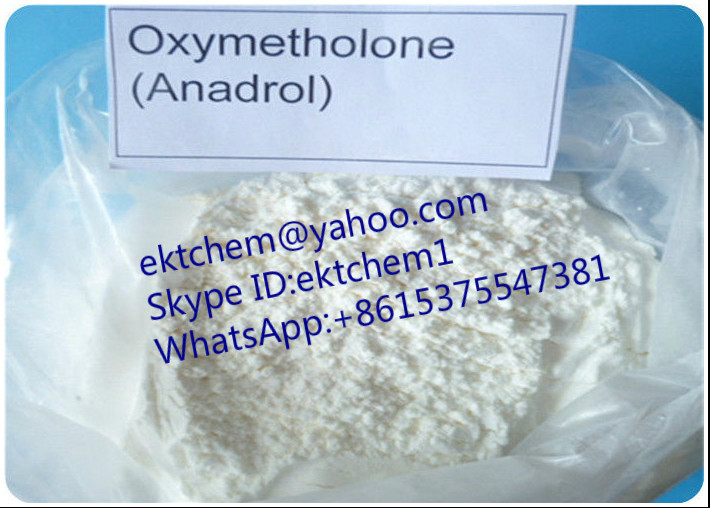 Oral 99% purity Anabolic Steroids Oxymetholone Anadrol For Muscle Gaining CAS 434-07-1